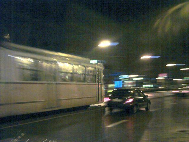 И отново трамвай